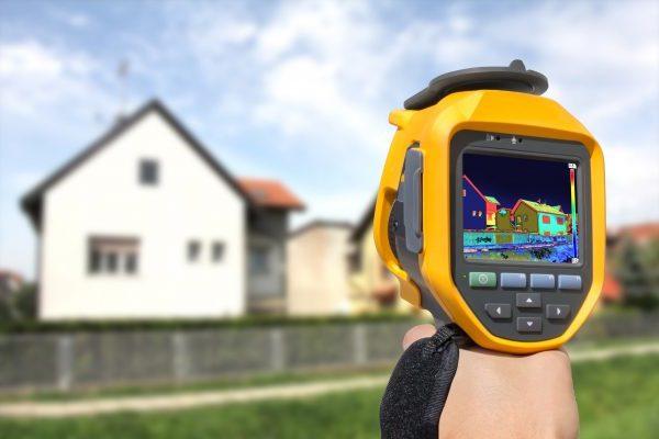 Thermographie Kamera im Einsatz