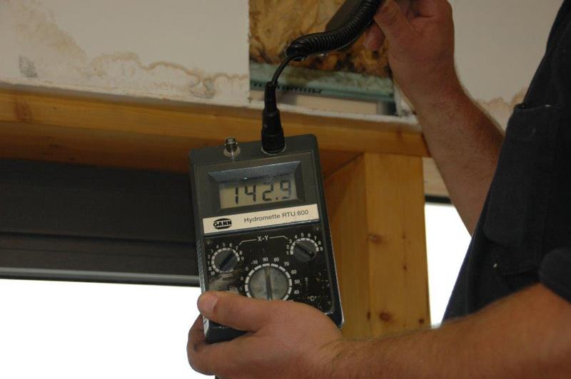 Feuchtigkeitsmessgerät für die Bautrocknung München